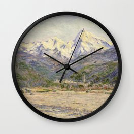 The Valley of the Nervia Wall Clock