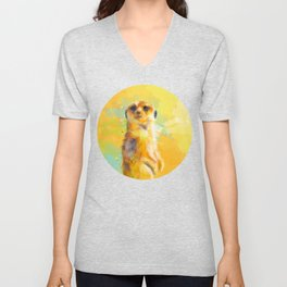Dear Little Meerkat Unisex V-Neck
