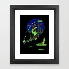 Pour Bar Framed Art Print