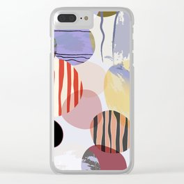 Geometric Art - 9 Clear iPhone Case