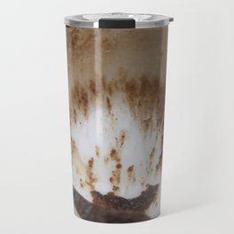 Ocean and boat and sand storm Travel Mug