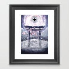 The Silver Leaves Framed Art Print