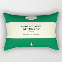 Death Comes As The End Rectangular Pillow