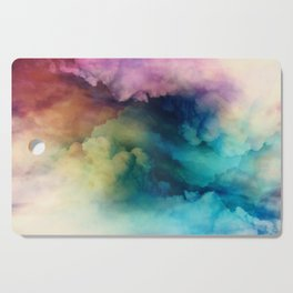 Rainbow Dreams Cutting Board