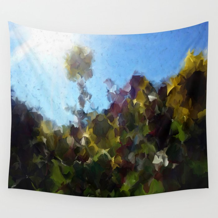 Backlit Wall Tapestry