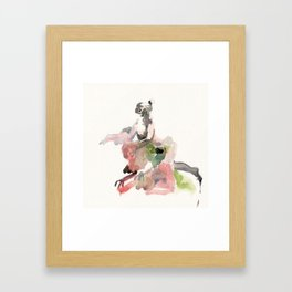 fountain #1. Framed Art Print