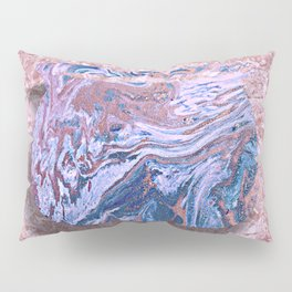Marbled Comfort Poster Pillow Sham