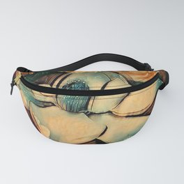 Vintage Magnolia Sparkling in the Night Fanny Pack