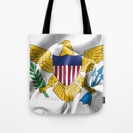 United States Virgin Islands Flag Tote Bag