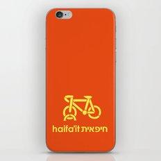 Haifa Culture - Haifa'it (חיפאית) iPhone & iPod Skin