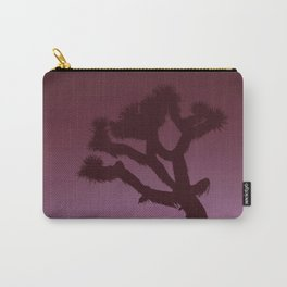 Joshua Tree in Magenta Carry-All Pouch