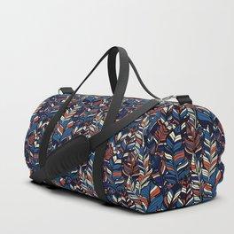 Boho Style illustration Duffle Bag