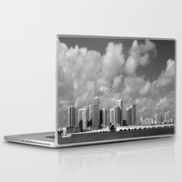 miami Laptop & iPad Skins featuring Miami by Raymond Earley