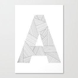 A strings Canvas Print