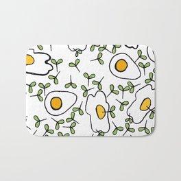 Egg cress Bath Mat