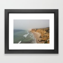 Algarve Beach Framed Art Print