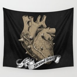 a heart that survived Wall Tapestry