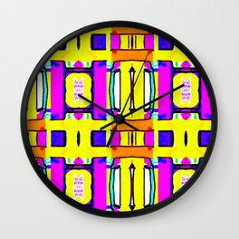 Pidgeon-holed Wall Clock