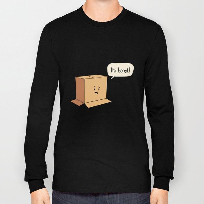 Card-Bored Long Sleeve T-shirt