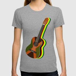 Reggae Guitar T-shirt