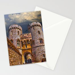 Norman Gate, Windsor Castle , England Stationery Cards