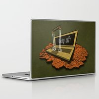 spaceship Laptop & iPad Skins featuring SPACEship by Tomas Jordan