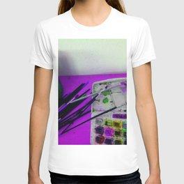 Aquarell und Digital T-shirt