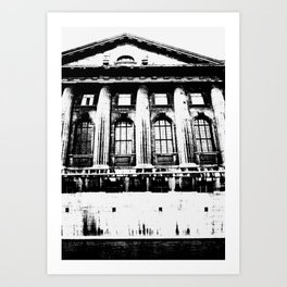The Shifting Museum / Berlin Art Print