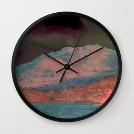 Mount Doom Wall Clock