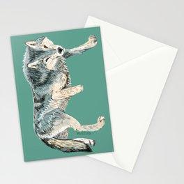 Totem Polar wolf Stationery Cards