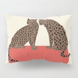 Leopards and shape Pillow Sham
