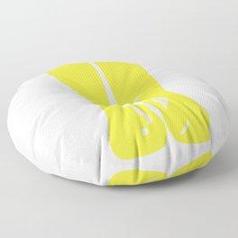 Yellow Rainboots Floor Pillow