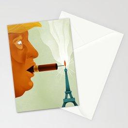 Paris Trumps Trump Stationery Cards