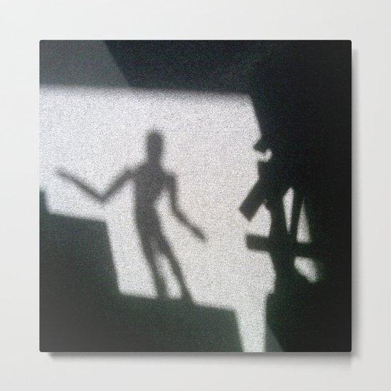 Shadow of the mannikin Metal Print
