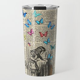Alice In Wonderland - Let The Adventure Begin Travel Mug