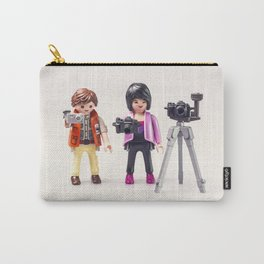 Two photographers. Playmobil Carry-All Pouch