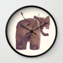 Elephant's butt Wall Clock