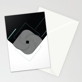 Op-Art Stationery Cards