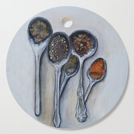 Spoons & Spices Cutting Board
