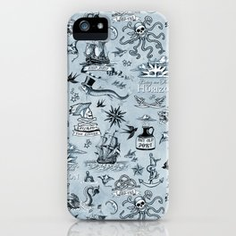 A Pirate's Life - Indigo iPhone Case