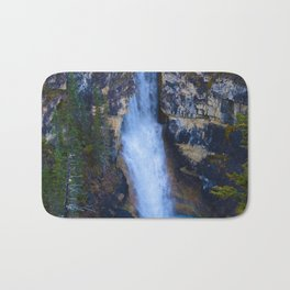 Falls of the Pool along the Berg Lake Trail in BC, Canada Bath Mat