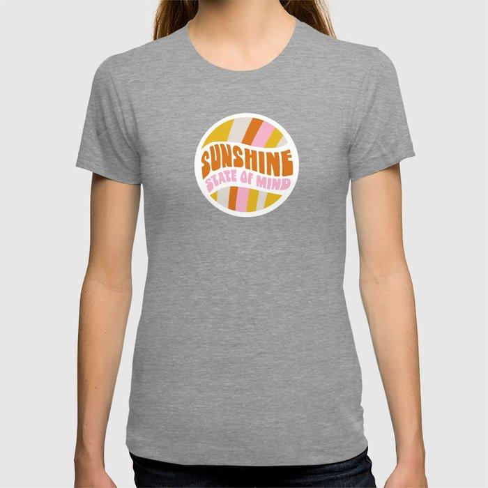sunshine state of mind, type T-shirt