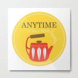 TEA - Love in A Cup Metal Print