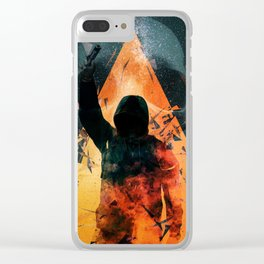 No way out Sci-Fi Surreal Art Clear iPhone Case