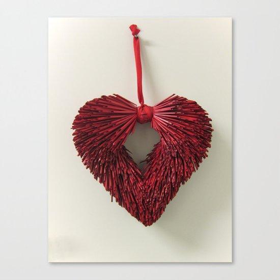 Loving Red Canvas Print