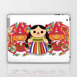 Maria 2 (Mexican Doll) Laptop & iPad Skin