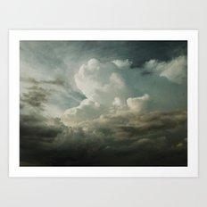 Summer Storms Art Print