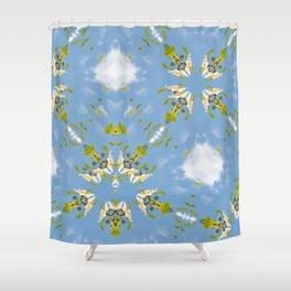 Franklinia Alatmaha and Sky Shower Curtain