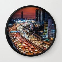 High Speed Fast Cars Wall Clock