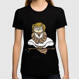 Mar-owl-yn Monroe T-shirt